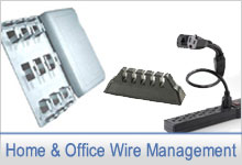 Home and Office Wire Management