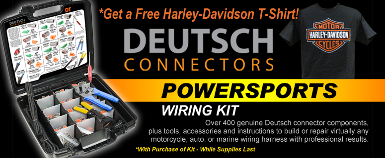 Now Available: Deutsch DT Connector Powersports Wiring Kits