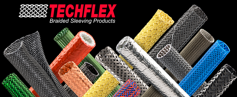 Now Available: Techflex Braided Sleeving